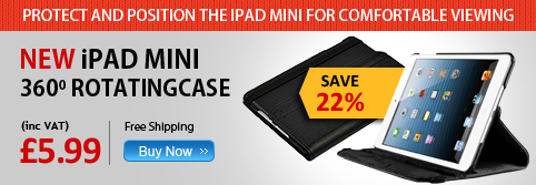 iPad Mini 360 Rotating Case